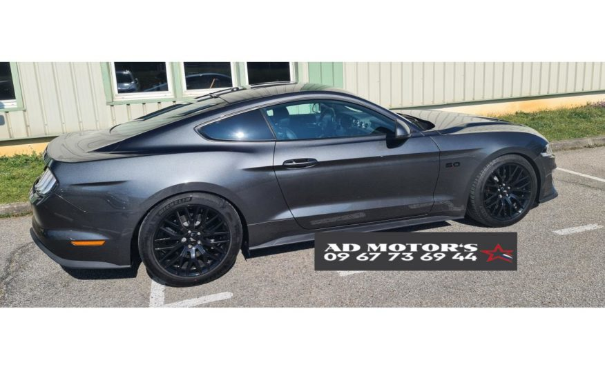 FORD MUSTANG 6 COUPE VI (2) FASTBACK 5.0 V8 GT BVA10 MALUS INCLUS